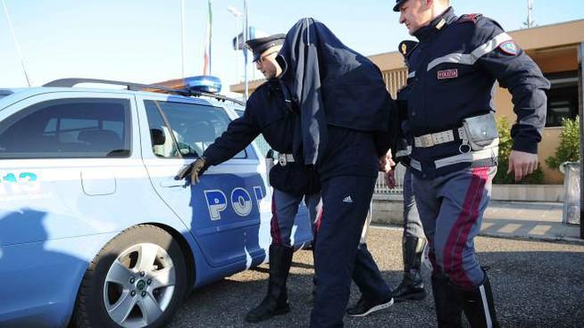 Milano polizia arresto